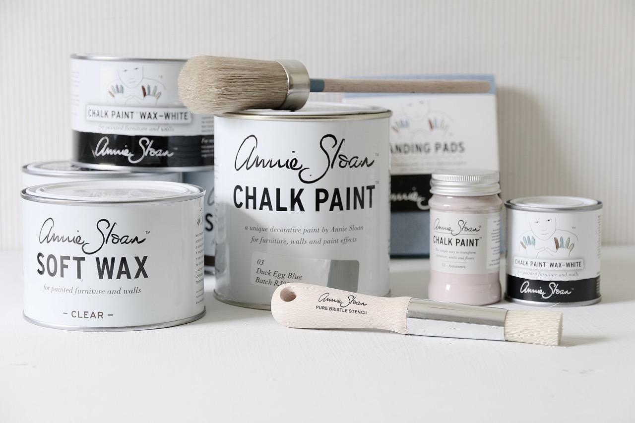 Chalk Paint Annie Sloan All White Italia