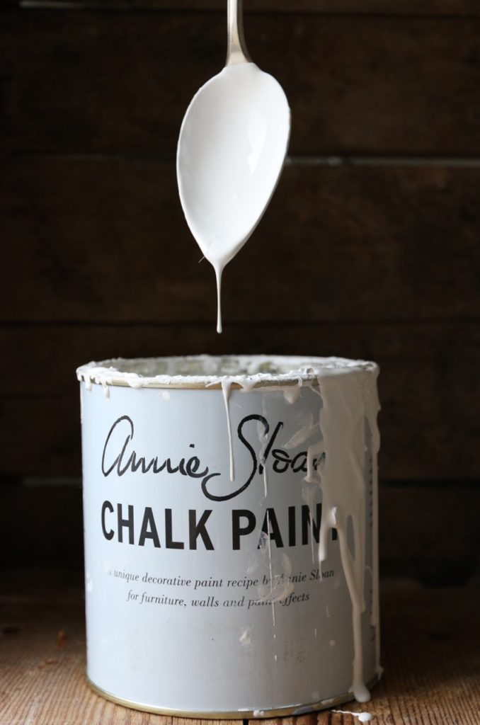 mescolare chalk paint