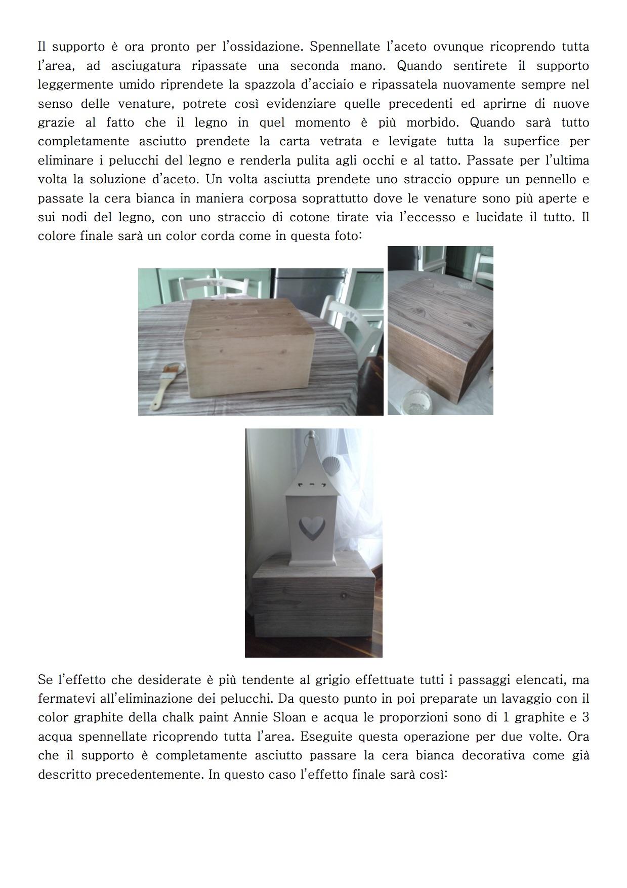 Ossidazione del legno Tutorial 2